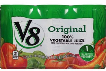 V8 100% Vegetable Juice, Original 5.5 Ounce (Pack of 6) Deal