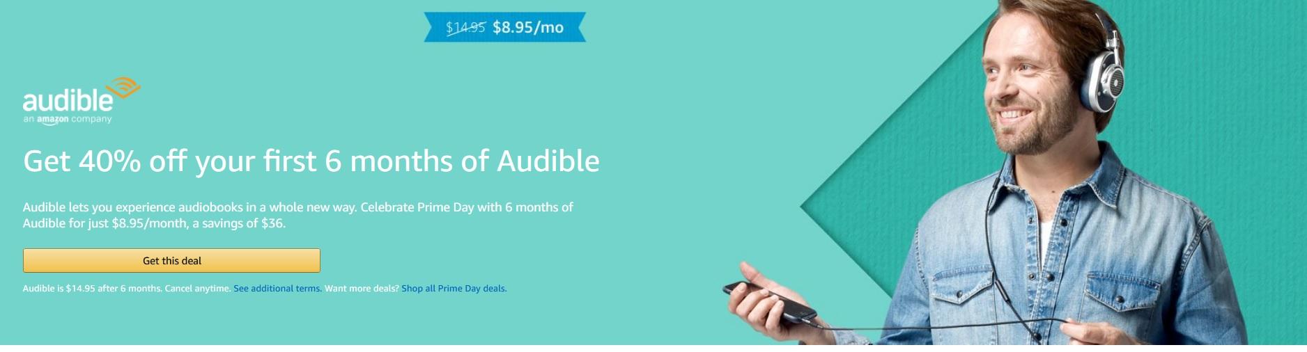 Audible Deal