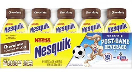 Nesquik Ready To Drink Milk, Chocolate, 8 Ounce., 10 Count Deal