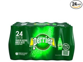 PERRIER Sparkling Mineral Water, 16.9-Ounce Plastic Bottles (Pack of 24) Deal