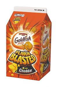 Pepperidge Farm Goldfish Crackers, Xtra Cheddar Flavor Blasted, 30 Oz Carton Deal