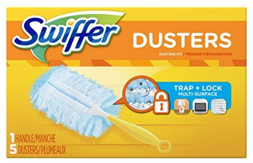 Swiffer 180 Dusters Starter Kit Unscented scent, 5 Count Deal