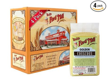 Bob's Red Mill Golden Couscous, 24-ounce (Pack of 4) Deal