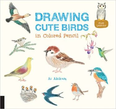 Drawing Cute Birds in Colored Pencil Deal