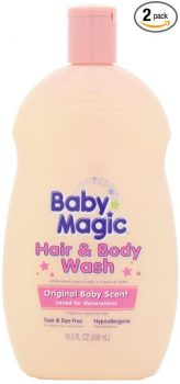 Baby Magic Hair and Body Wash, Original Baby Scent, 16.5 Ounces (Pack of 2) Deal