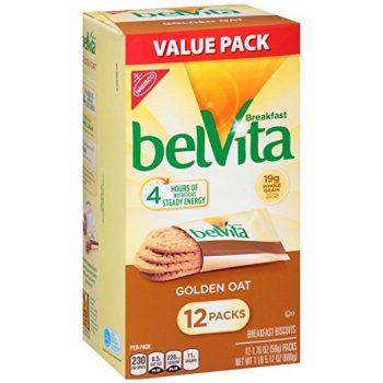 Belvita Breakfast Biscuits, Golden Oat, 1.76oz, 12 count Deal