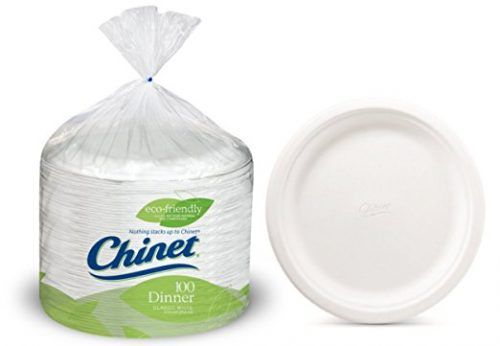 Chinet 10 3:8 Dinner Plate 100-count Box Deal