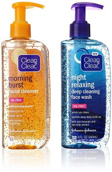 Clean & Clear Day:Night Cleanser 2-Pack DEAL
