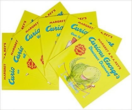 Curious George Around Town (6 Volume Set)