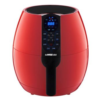 GoWISE USA 3.7-Quart Programmable Air Fryer with 8 Cook Presets, GW22639 Deal