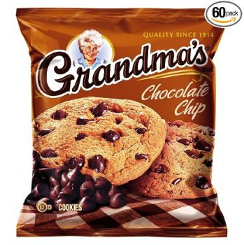 Grandma's Chocolate Chip Cookies, 2.5 Ounce (Pack of 60) Deal