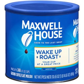 Maxwell House Wake Up Blend Ground Coffee, Mild Roast, 30.6 Ounce Canister Deal