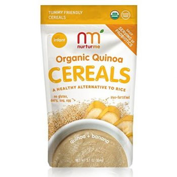 NurturMe Organic Infant Cereal, Quinoa and Banana, 3.7 Oz.