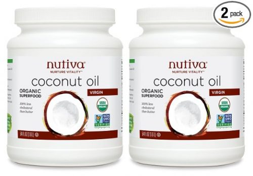 Nutiva Organic Coconut Oil, Virgin, 54 Ounce (Pack of 2)