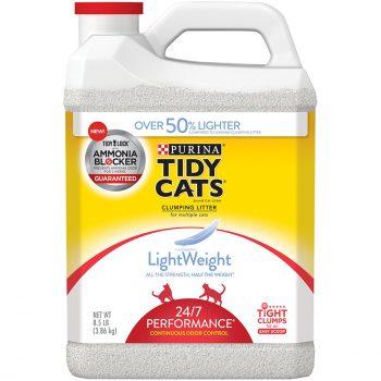 Purina Tidy Cats LightWeight 24:7 Performance Clumping Cat Litter Deal