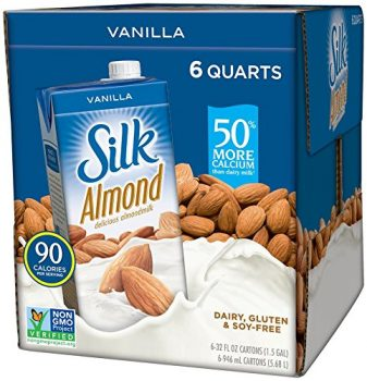 Silk Pure Almond Vanilla, 32-Ounce (Pack of 6) E3ql