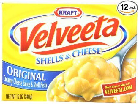 Velveeta Shells & Cheese Dinner, 12-Ounce Boxes (Pack of 12) Deal