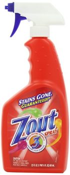 Zout Triple Enzyme Formula Laundry Stain Remover Spray, 22 Ounce Deal