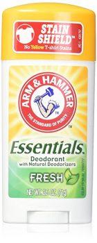 ARM & HAMMER Essentials Natural Deodorant Fresh 2.50 oz (Pack of 3) Deal