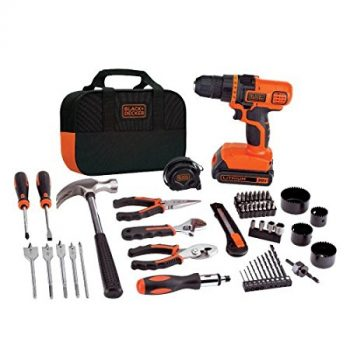 BLACK+DECKER LDX120PK 20-Volt MAX Lithium-Ion Drill and Project Kit DEal