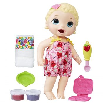 Baby Alive Super Snacks Snackin' Lily (Blonde) Deal