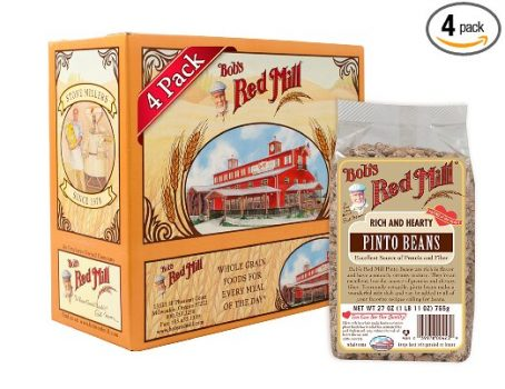 Bob's Red Mill Pinto Beans, 27-ounce (Pack of 4) Deal