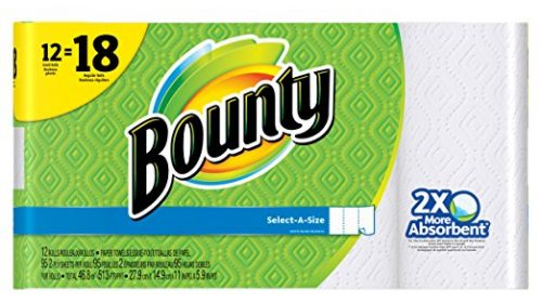 Bounty Select-a-size Paper Towels, White, 12 Count Deal