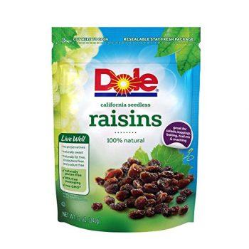 Dole California Seedless Raisins, 12 Ounce Deal