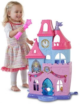 Fisher-Price Little People Disney Princess Magical Wand Palace Playset Deal