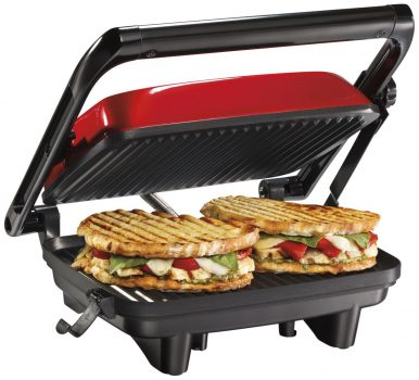 Hamilton Beach 25462Z Panini Press Gourmet Sandwich Maker Deal