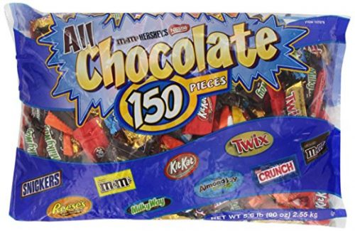 Hershey's All Chocolate Pieces, 150 Pcs, 90 Ounce Bag Deal