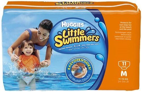 Huggies Little Swimmers Disposable Swimpants, Medium, Pack:11 Deal
