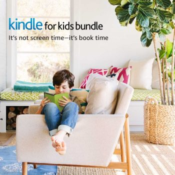 Kindle for Kids Bundle with the latest Kindle E-reader, 2-Year Worry-Free Guarantee Deal