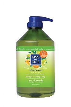 Kiss My Face Whenever Shampoo, Green Tea & Lime, Value Size, 32 Ounce Deal