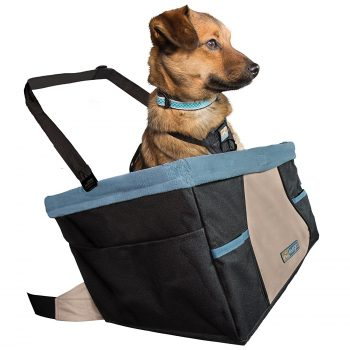 Kurgo Skybox Dog Booster Seat for Cars and Dog Car Seat with Dog Seat Belt Tether Deal