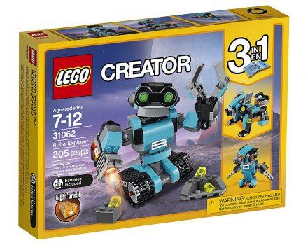 LEGO Creator Robo Explorer 31062 Robot Toy Deal