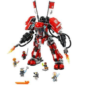 LEGO Ninjago Movie Fire Mech 70615 Building Kit (944 Piece) Deal