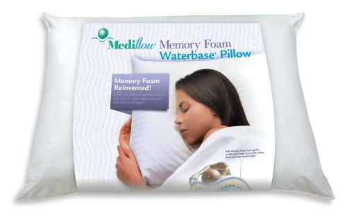 Mediflow Gel Memory Foam Waterbase Pillow Deal
