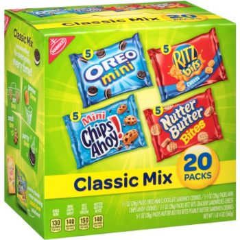 Nabisco Classic Cookie and Cracker Mix (20-Count Box) Deal