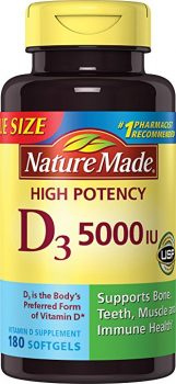 Nature Made Vitamin D3 5000 IU,180 Softgels Deal