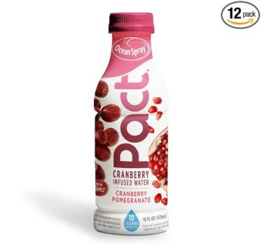 Ocean Spray Pact Cranberry Pomegranate Infused Water, 16 fl oz (Pack of 12) Deal