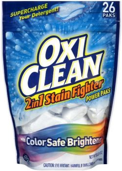 OxiClean 2 in 1 Stain Fighter Power Paks Deal