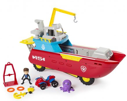 Paw Patrol Sea Patroller Transforming Vehicle with Lights and Sounds Deal