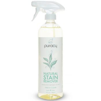 Puracy Natural Stain Remover - THE BEST Enzyme Laundry Cleaner - Plant-Based Spot & Odor Eliminator - Free & Clear - 25 fl. Ounce Deal