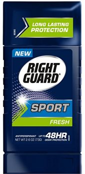 Right Guard Sport Antiperspirant Up To 48HR, Fresh 2.6 oz ( Pack of 6 ) Deal