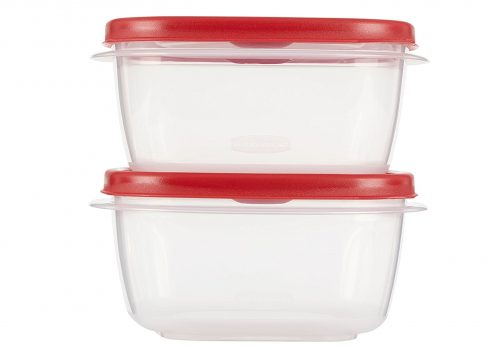 Rubbermaid Easy Find Lid Food Storage Set, 5 Cup, 4 Piece set (2 Cups and 2 Lids) Deal