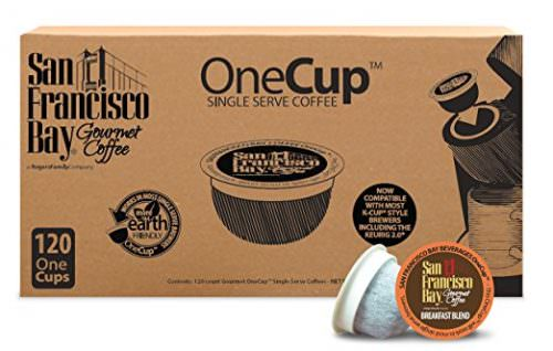 San Francisco Bay OneCup, Breakfast Blend, 120 Count- Single Serve Coffee, Compatible with Keurig K-cup Brewers Deal