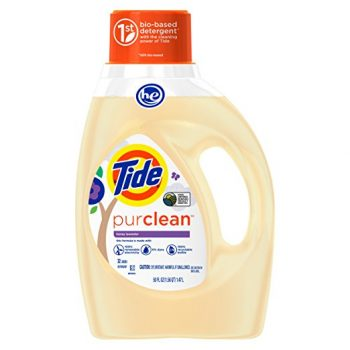 Tide Purclean Plant-based Laundry Detergent, Honey Lavender Scent, 50 oz., 32 loads Deal