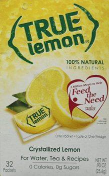 True Lemon Crystallized Lemon 32 Packets Deal