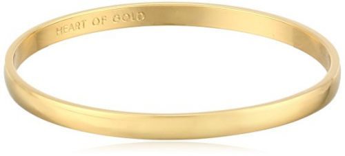 kate spade new york Idiom Collection Heart of Gold Bangle Bracelet, 7.75 Deal
